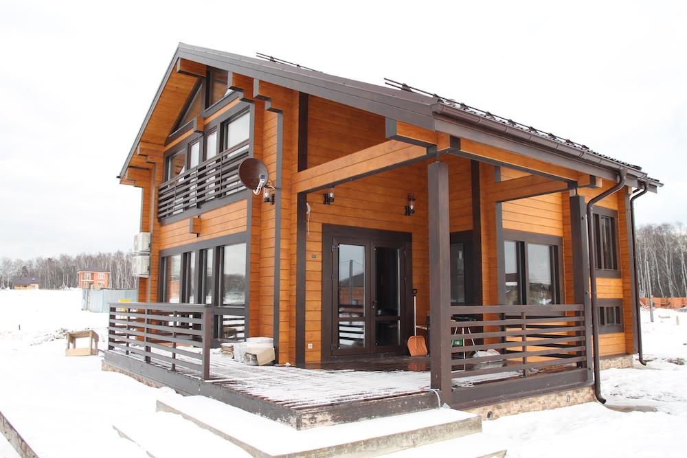 Дом из клееного бруса в Сыктывкаре